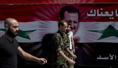 Reklama wyborcza al-Asada