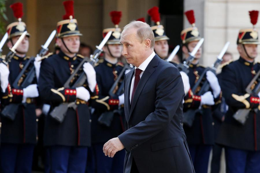 Władimir Putin we Francji