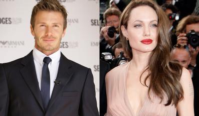 Beckham i Jolie nie rozbiorą się razem