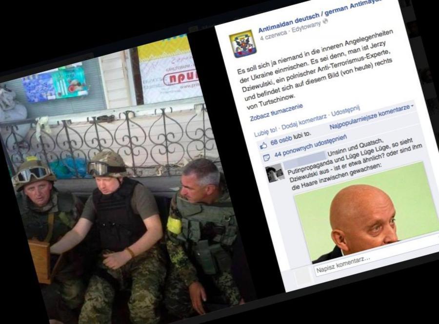 Jerzy Dziewulski szkolił Ukraińców przeciwko prorosyjskim bojownikom? Zagadkowe ZDJĘCIE w internecie