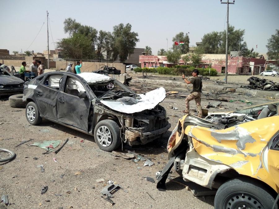 Atak bombowy w Iraku