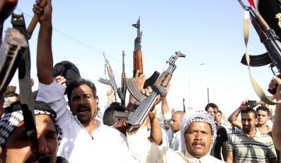 Ochotnicy chętni do walki w Karbali