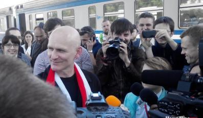 Alaś Bialacki zwolniony z więzienia
