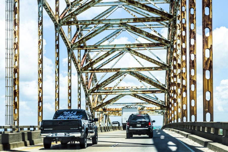 Zielony Most w Nowym Orleanie