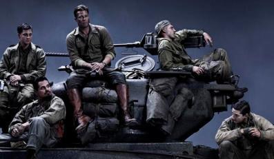 """Brad Pitt i jeszcze czterej pancerni z """"Fury"""""""