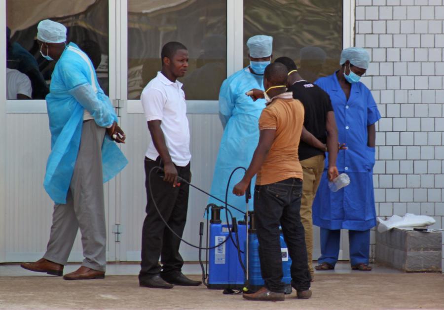 Epidemia w Gwinei