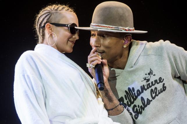 Pharrell Williams wiecznie młody