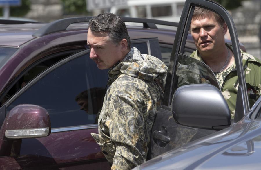 Lider prorosyjskich separatystów Igor Striełkow