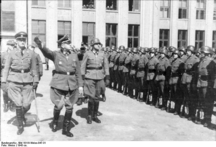 Kaci Warszawy: Erich von dem Bach-Zelewski (fot. Bundesarchiv, 101III-Weiss-047-31)