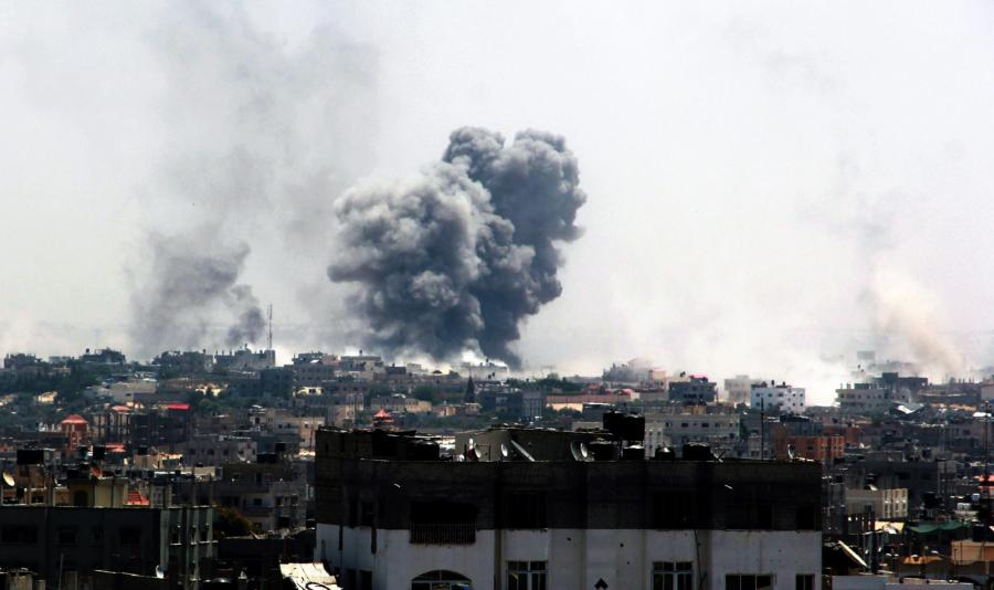 Bombardowanie Rafah
