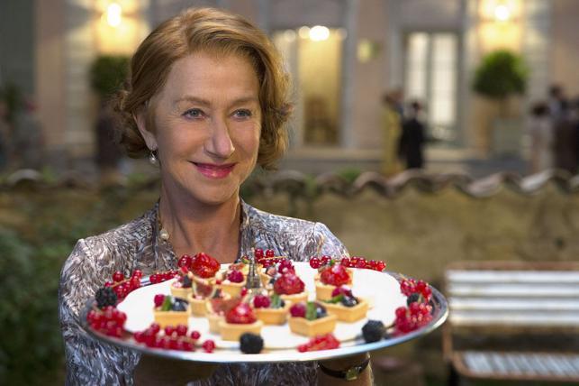 """Helen Mirren w filmie """"Podróż na sto stóp"""""""