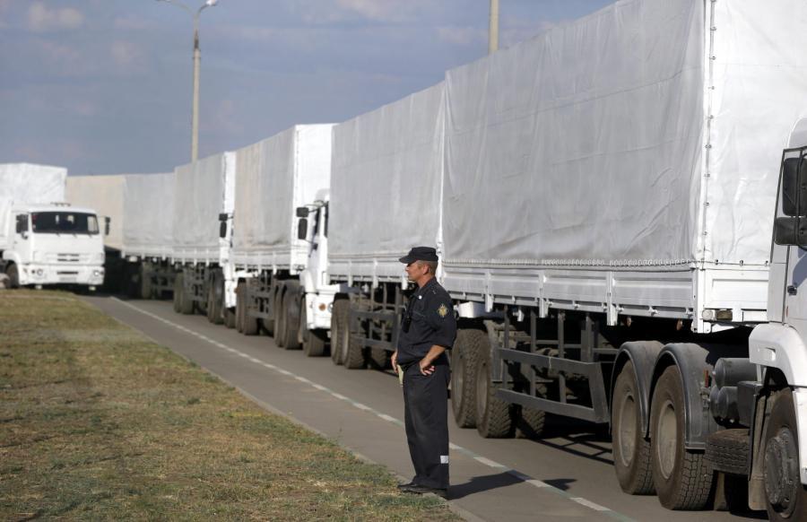 Rosyjski biały konwój