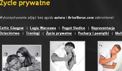 Boruc pokazał prywatne fotki z kochanką