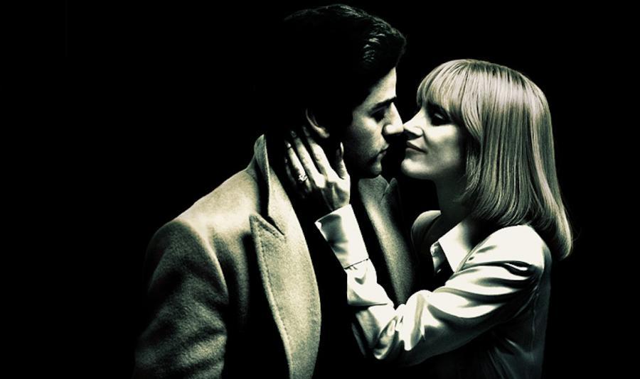 Oscar Isaac i Jessica Chastain na plakacie zapowiadającym \