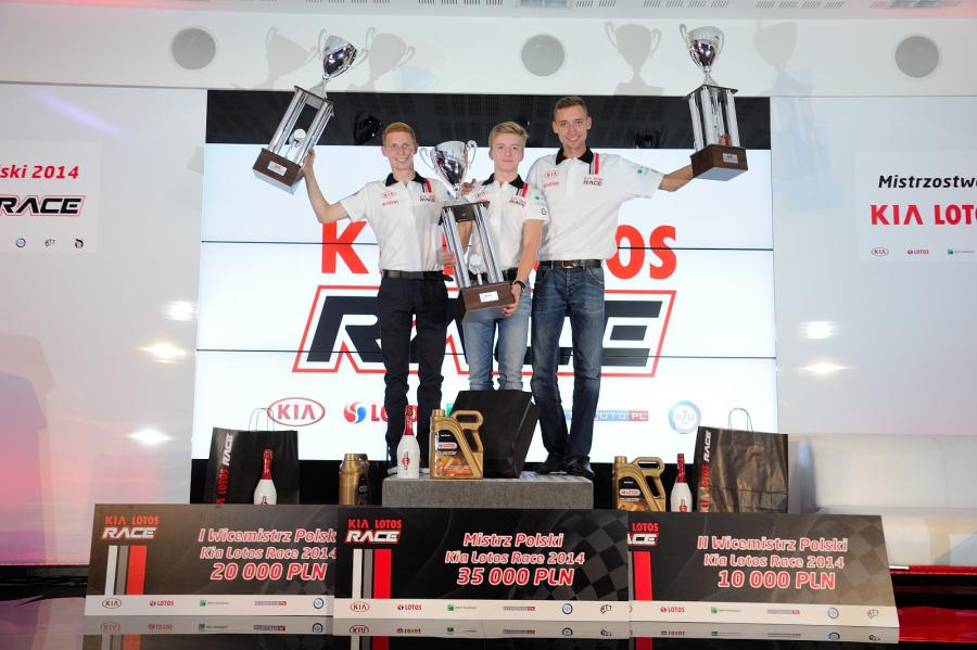 Podium Kia Lotos Race 2014