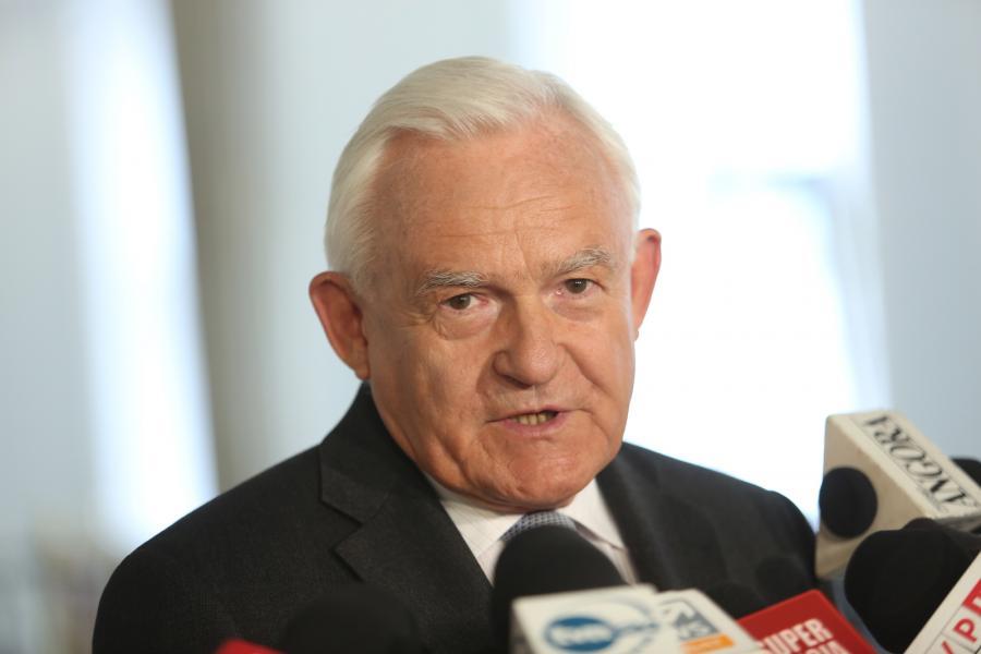 Przewodniczący Sojuszu Lewicy Demokratycznej Leszek Miller