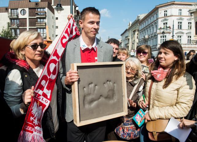 Mariusz Wlazły jako pierwszy trafi do łódzkiej Alei Gwiazd Sportu