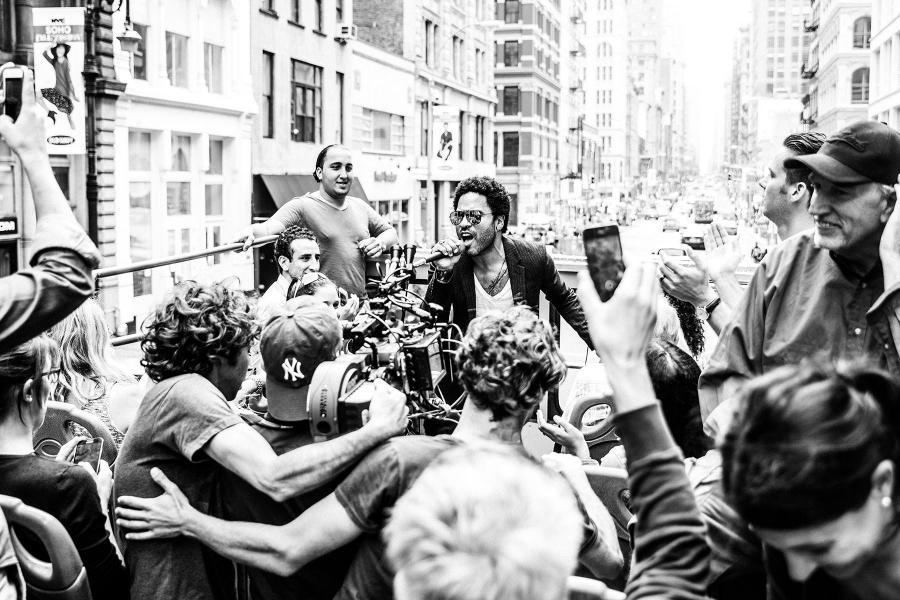 Lenny Kravitz zaprasza do Nowego Jorku