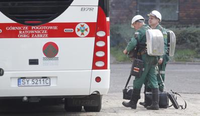 Akcja ratownicza w kopalni Mysłowice-Wesoła