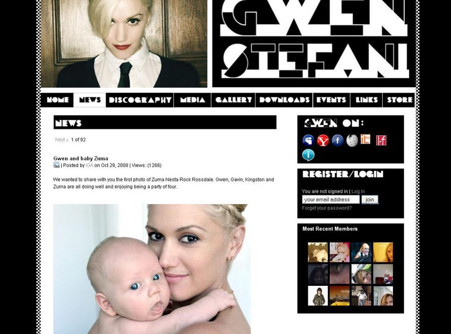 Gwen Stefani pokazała synka za darmo