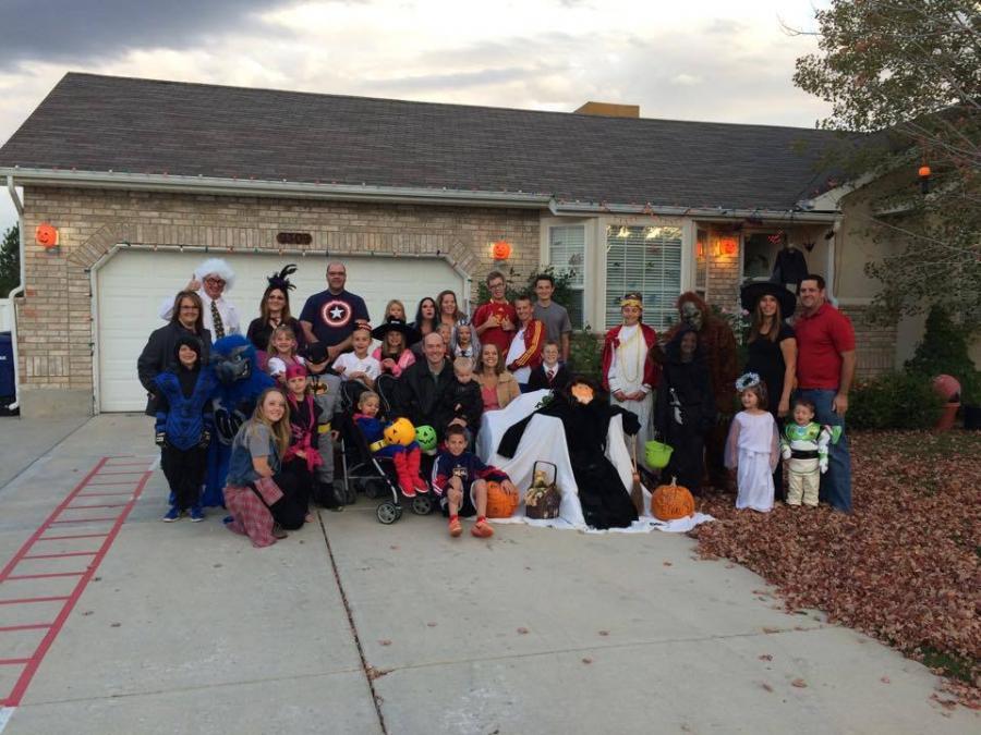 Święto Halloween w West Jordan, mieście Ethana Van Leuvena