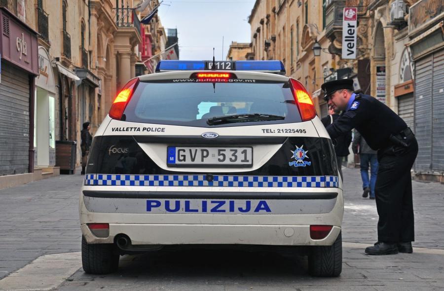 Policja na Malcie