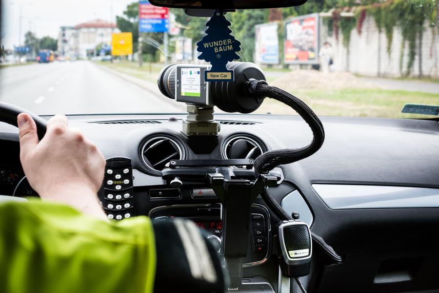 Fotoradar w samochodzie ITD