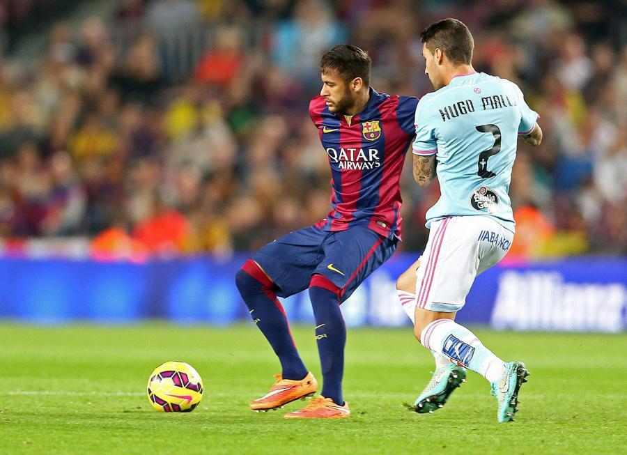 Neymar (z lewej)