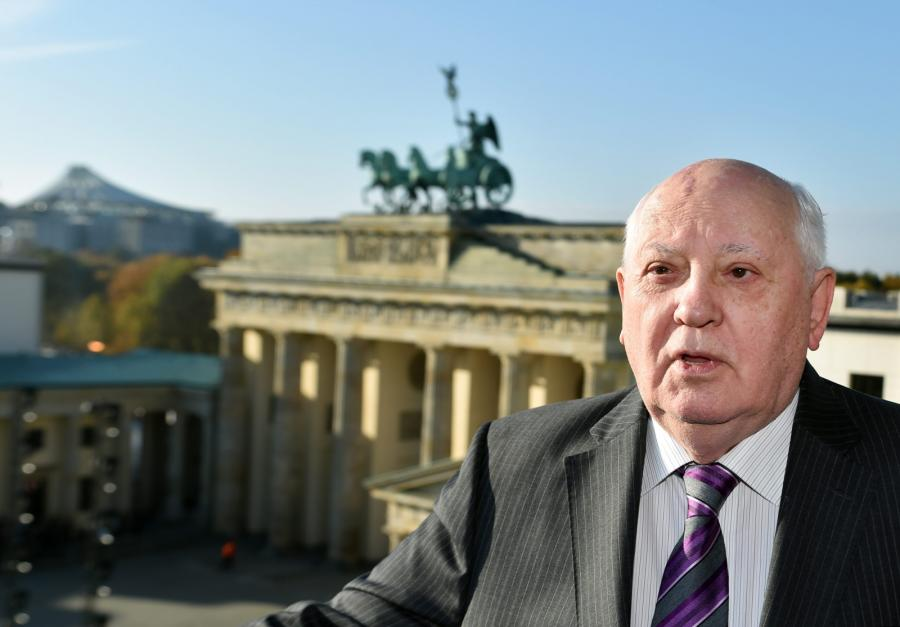 Michaił Gorbaczow w Berlinie