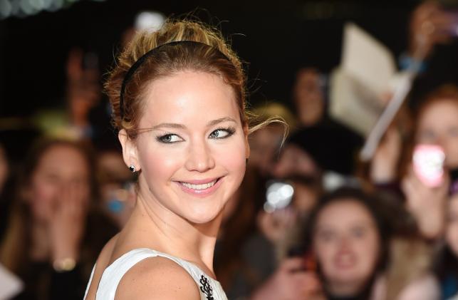 """Jennifer Lawrence na premierze filmu """"Igrzyska śmierci: Kosogłos. Część 1"""""""