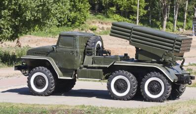 Wyrzutnia BM-21 Grad