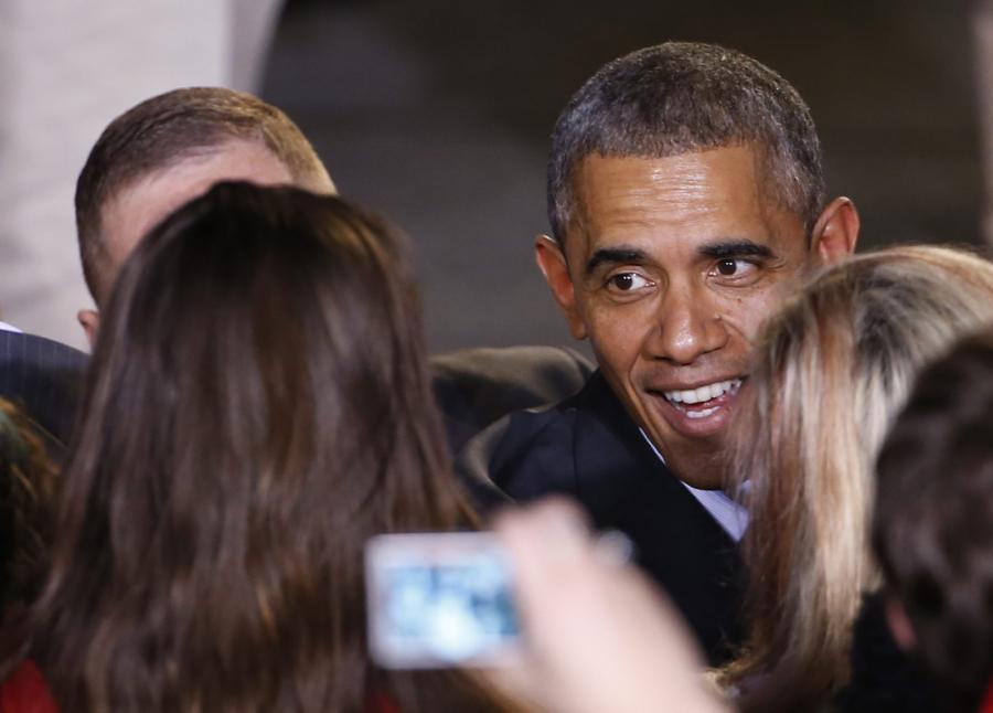 Barack Obama na spotkaniu z amerykańską Polonią