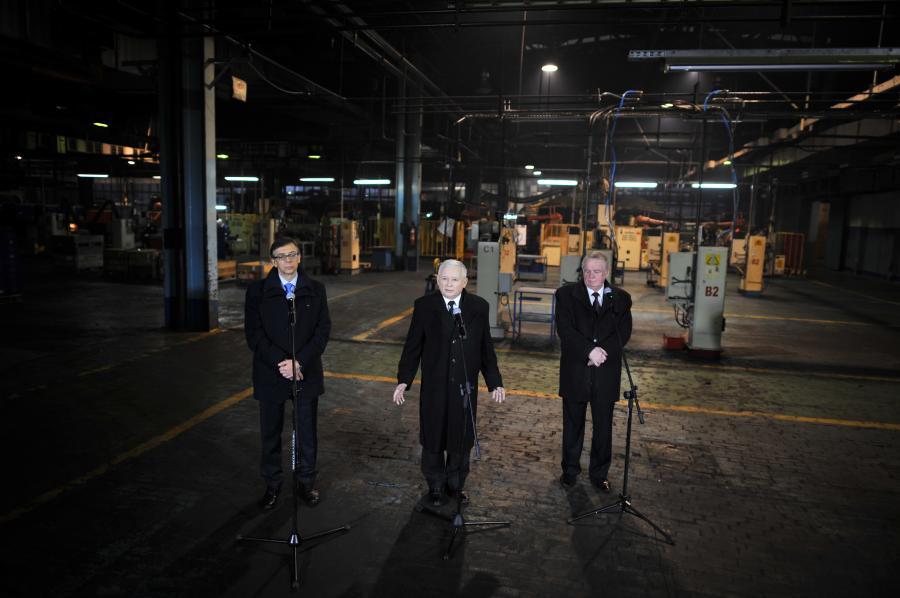 Sławomir Zawieska, Jarosław Kaczyński, Wojciech Kudelski