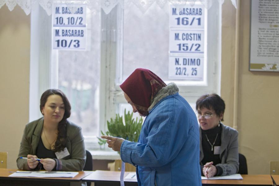 Niedzielne głosowanie w Mołdawii