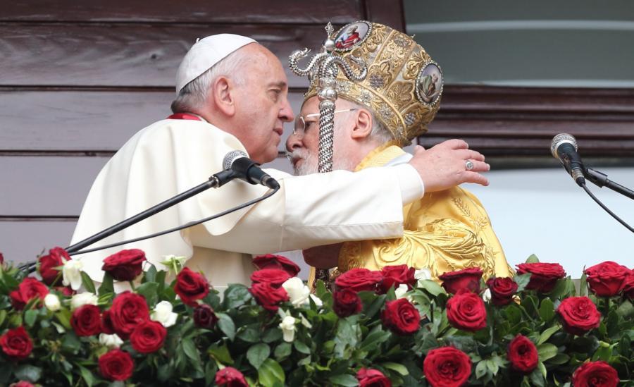 Papież Franciszek i Bartłomiej I
