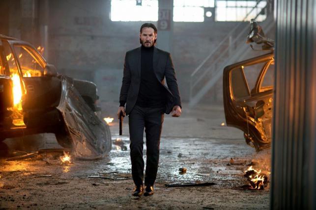 Keanu Reeves jako John Wick