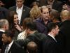 Książę William i księżna Catherine na meczu NBA