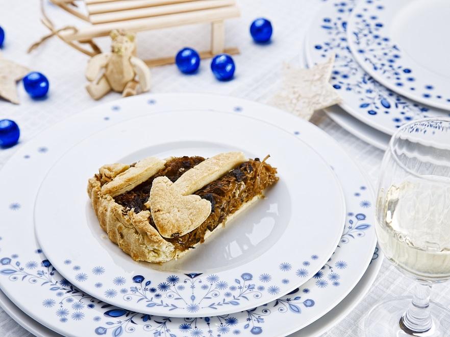 Świąteczny kisz z kapustą i grzybami