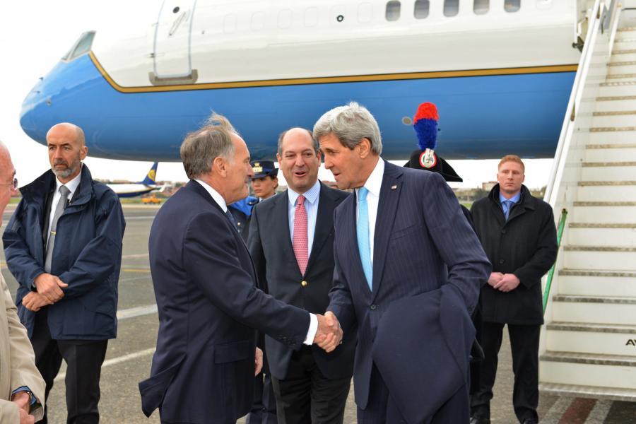 Siergiej Ławrow i John Kerry