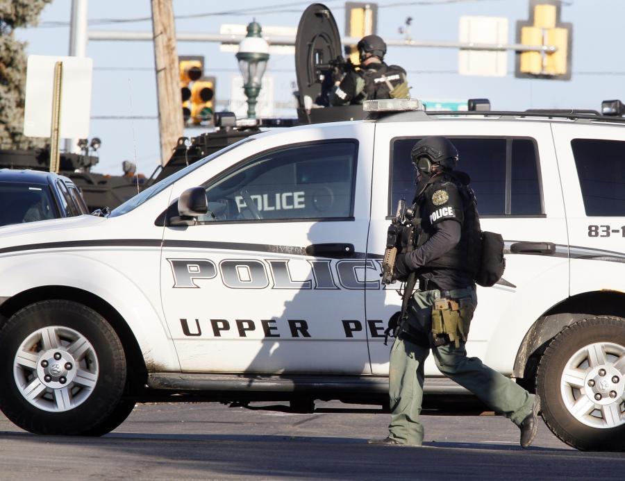 Oficer z jednostki SWAT