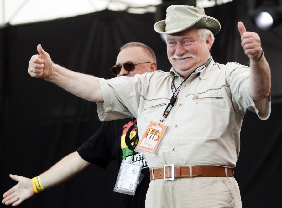 Wałęsa, polityka, glany i irokezy