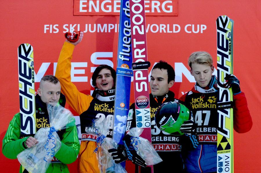 Zwycięzcy konkursu w Engelbergu