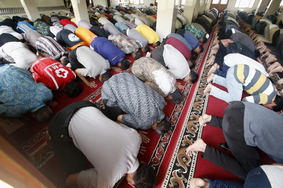 Modły muzułmanów