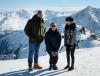 Dave Bautista, Daniel Craig i Léa Seydoux w austriackim Soelden