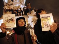 """Francja w szoku po zamachu w siedzibie tygodnika """"Charlie Hebdo"""". ZDJĘCIA"""