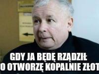 Kaczyński obiecał kopalnie złota, a Kopacz znalazła inwestora. MEMY DNIA
