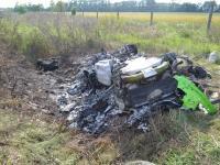 Auto za ponad milion zł roztrzaskał na autostradzie przy 300 km/h! Drastyczne wideo z kabiny. ZDJĘCIA