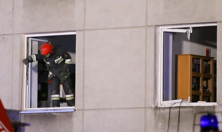 Akcja ratowników trwała do rana