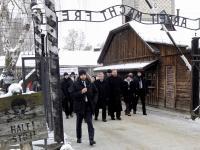 Skandal z włoską delegacją w Muzeum Auschwitz. Wzywali policję