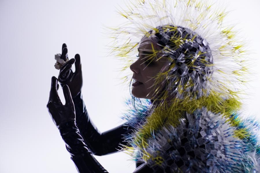 Björk przedstawia \